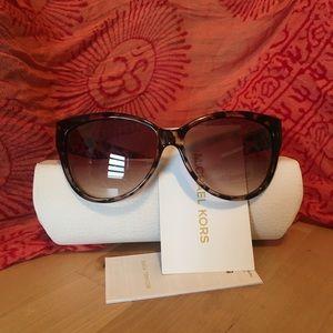 Michael Kors Mitzi I Square Cat Eye Sunglasses